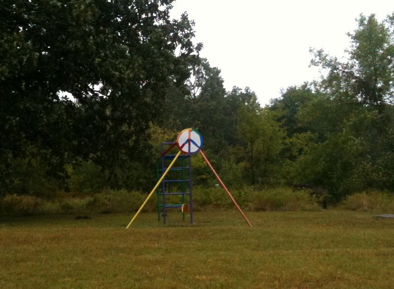 Peace swingset